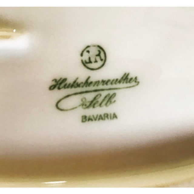 Hutscheneruther Antique Late 19th Century Bavarian Serving Dish For Sale - Image 4 of 6