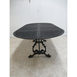 French Cast Classics Landgrave Patio Porch Outdoor Dining Banquet Table Preview