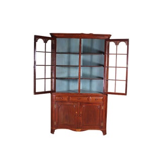 19th Century Country Style Pa Corner Cabinet