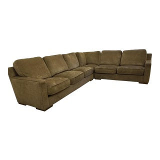 Kravet Custom Clemson Sectional in Mocha