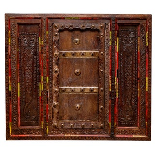 Anglo-Indian Carved Window For Sale
