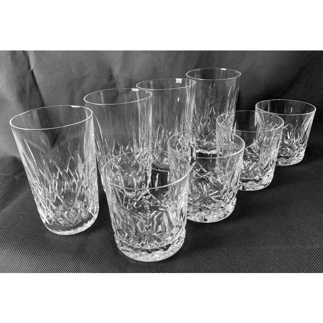 """Waterford""""Lismore"""" Pattern Highball/Tumbler Glasses - Set of 4 For Sale - Image 10 of 11"""