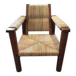 Ralph Lauren Safari Rush Arm Chair For Sale