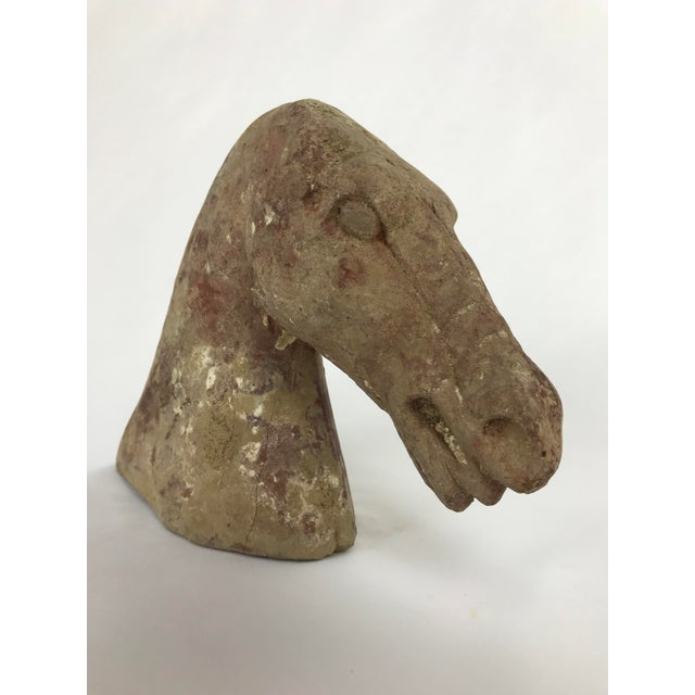 Han Style Ceramic Horse Effigy Head For Sale In Portland, OR - Image 6 of 6