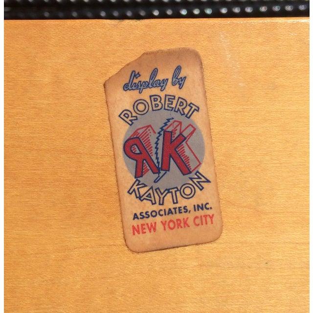 Vintage Robert Kayton Cord Chair For Sale - Image 4 of 9