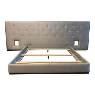 California King Custom Bed Frame by April Sheldon Design For Sale