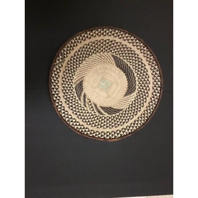 Binga Basket | Tonga Baskets 39 |African Basket | Woven Basket |Zimbabwe Basket |Ethnic Pattern |Ethnic Decor |Wall Hanging Basket - Image 6 of 6