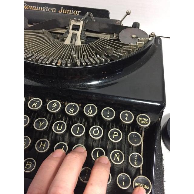 Antique Remington Spanish Typewriter For Sale - Image 5 of 10