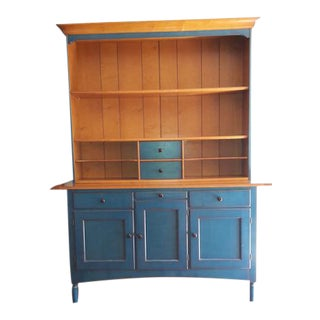 Grange Shaker Display Cabinet For Sale