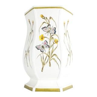 Mid 20th Century Italian Porcelain Umbrella Stand For Sale