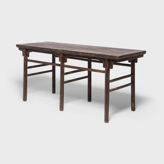 Asian 19th Century Chinese Calligrapher's Table For Sale - Image 3 of 7