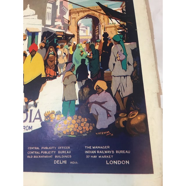 1935 'See India' Lahore Scene Ad For Sale In New York - Image 6 of 11