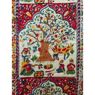 Block Printed Wall Hanging from India For Sale