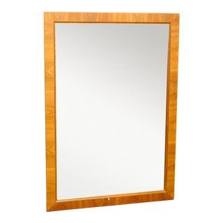 Large 1960s Danish Teak Mirror For Sale