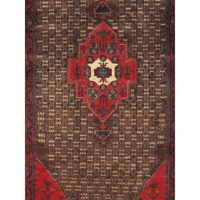 "Vintage Serab Wool Area Rug - 4'9"" X 9'3"" - Image 2 of 3"