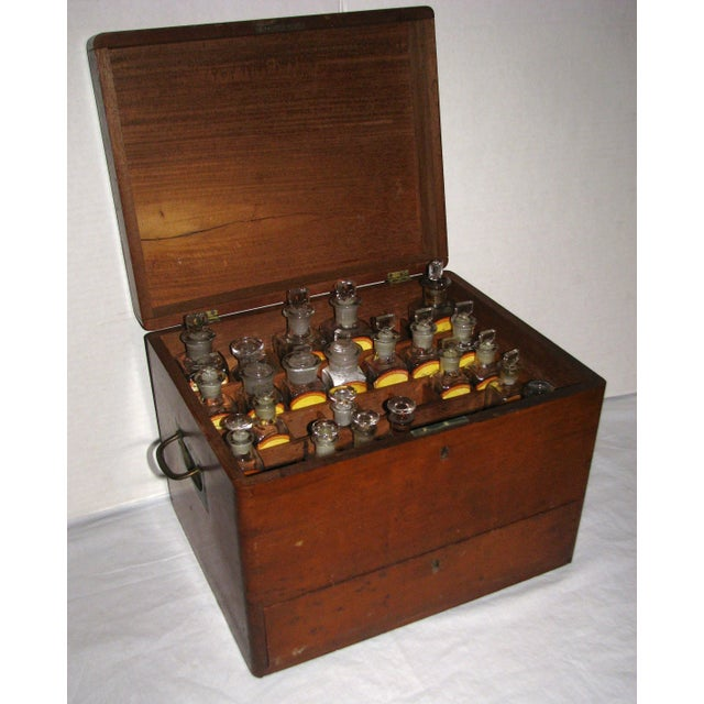 Antique Doctor's Apothecary Cabinet For Sale - Image 7 of 7