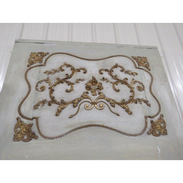 Hollywood Regency 19thC Swedish Trumeau Mirror For Sale - Image 3 of 6