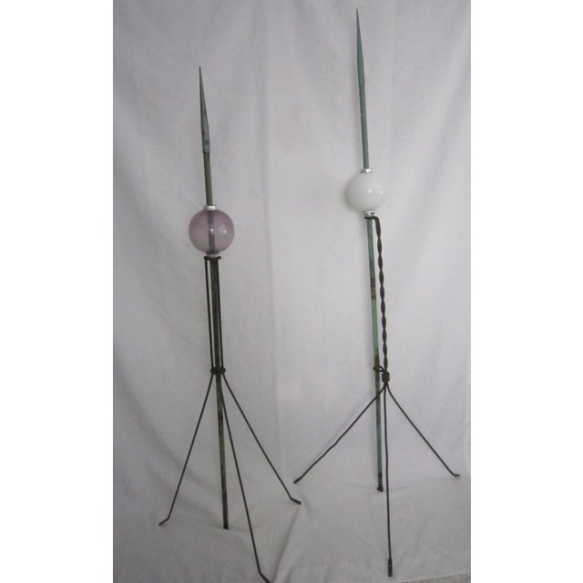 Lightning Rods - A Pair - Image 3 of 6