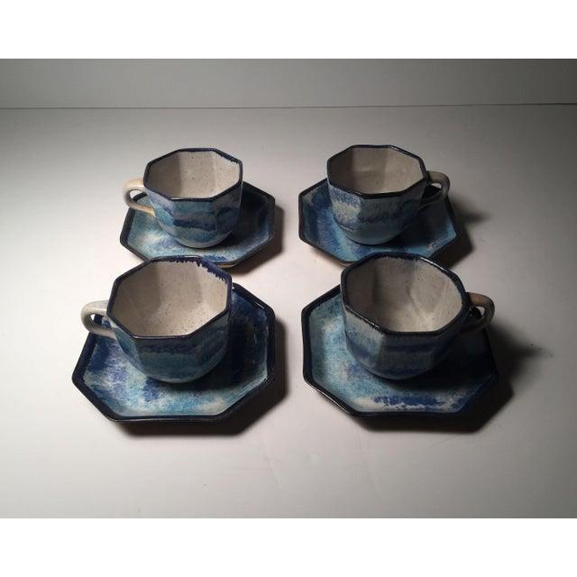 Gordon Martz Gordon Martz Ceramic Teacups / Dinnerware For Sale - Image 4 of 12