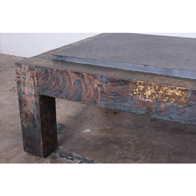 Large Patchwork Coffee Table by Paul Evans - Image 6 of 10
