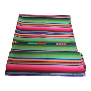 Guatemalan Woven Multi Color Throw