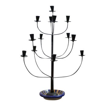 Antique Tree Style Candelabrum For Sale