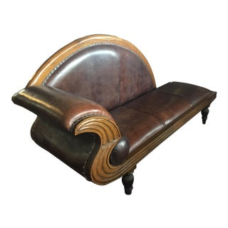 Art Deco Chaise Lounge