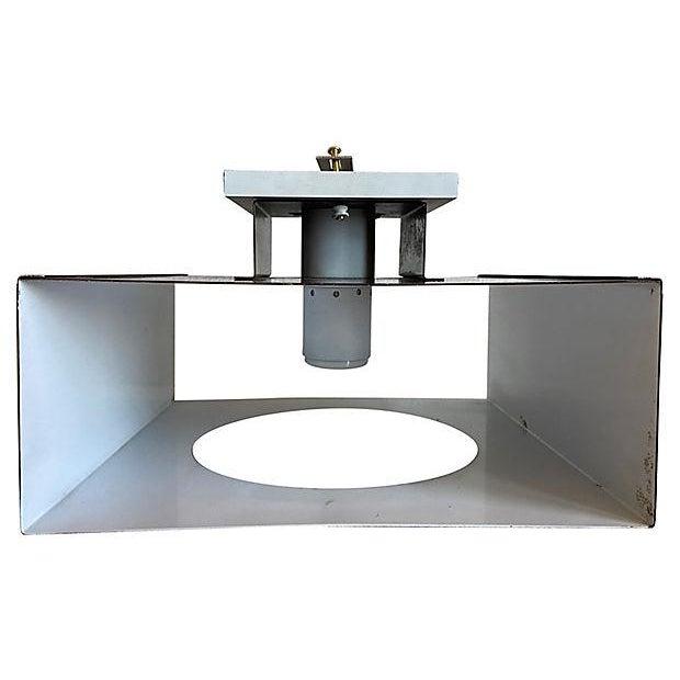 1970s Geometric Steel Light For Sale - Image 11 of 11