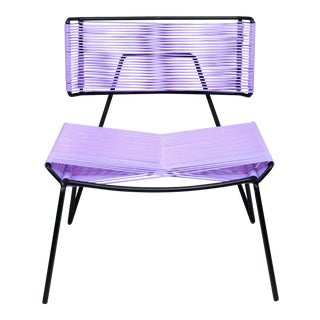 Modern Atacama Lavender Outdoor Chair For Sale