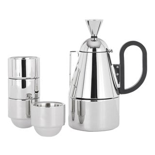 Tom Dixon Brew Stovetop Giftset Stainless Steel - Set of 5 For Sale