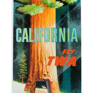 "David Klein ""California"" Twa Travel Poster Preview"
