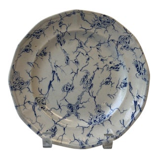 "1800's ""Marble"" Wedgwood Plate For Sale"