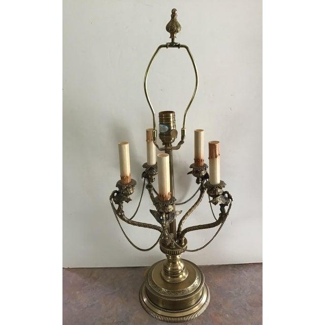 American Regency Eagle Bird Table Lamp Last Markdown For Sale - Image 10 of 13