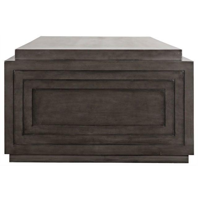 Noir Mentor Desk, Pale For Sale - Image 4 of 7