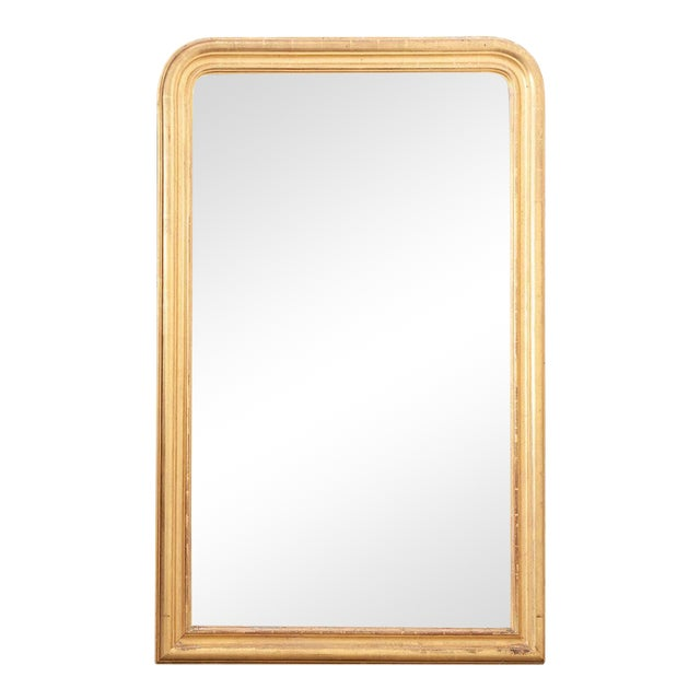 French 19th Century Giltwood Louis Philippe Mirror For Sale