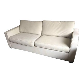 Room &Board York Neutral Bone/Beige/Greige Sofa
