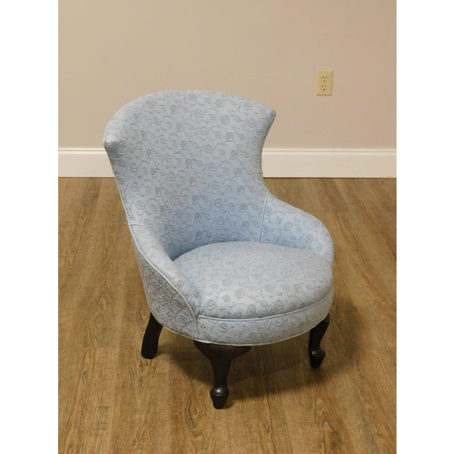 High quality Antique Solid Mahogany Frame Upholstered Childs Chair Store Item#: 26587