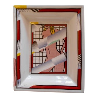 Roy Lichtenstein Pop Art Tray For Sale