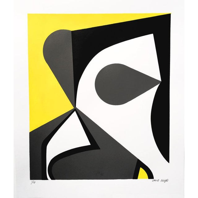 "David Lloyd ""Abstraction #1"" Silkscreen - Image 2 of 3"
