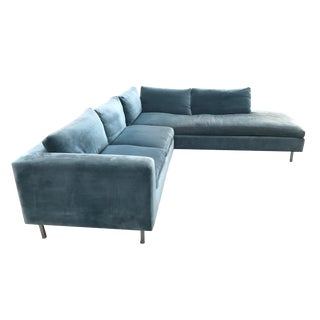 Mid-Century Custom Sectional For Sale