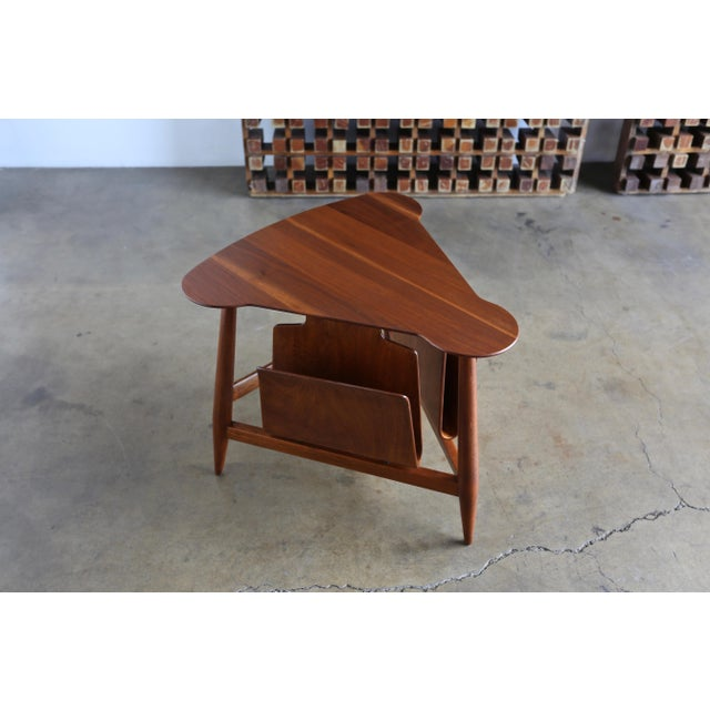 Metal Mid Century Edward Wormley Model 5313 Magazine Table For Sale - Image 7 of 13