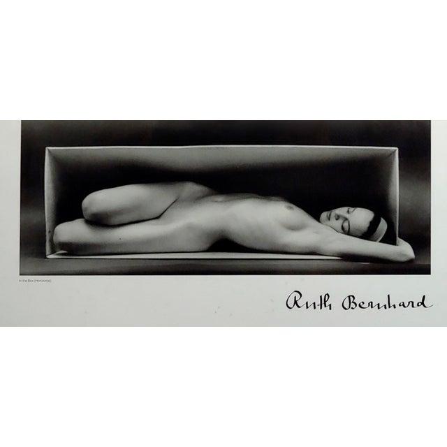 "Art Deco Ruth Bernhard ""Nude Inside the Box"" Original Poster For Sale - Image 3 of 8"