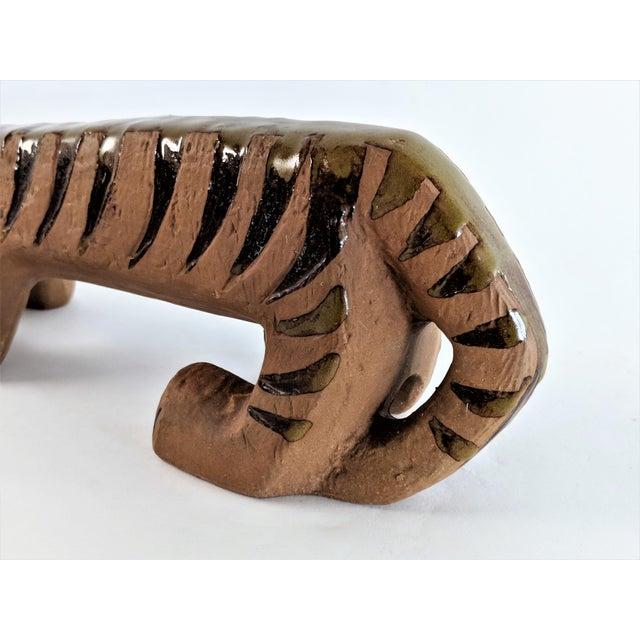 Ceramic Tiger by Lisa Larson for Gustavsberg, 1970s For Sale In Miami - Image 6 of 13