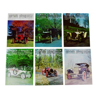 Antique Automobile Club Magazines - 1966 Full Year