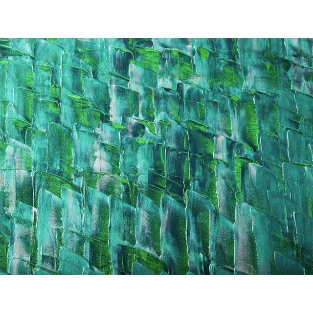 Blue Renato Freitas Original Oil on Canvas, 2012 For Sale - Image 8 of 8