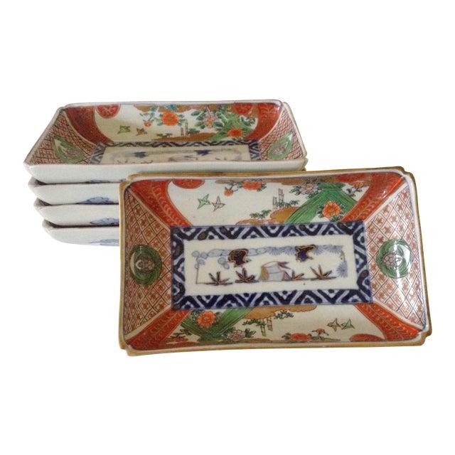 Japanese Imari Serving Plates - Set of 5 - Image 1 of 4