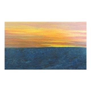 """""""Tangerine Sky"""" Impressionist Painting"""