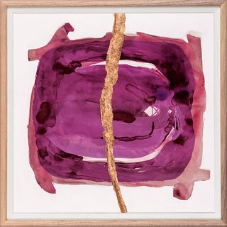 Wabi Sabi: Magenta Art Print - Framed For Sale