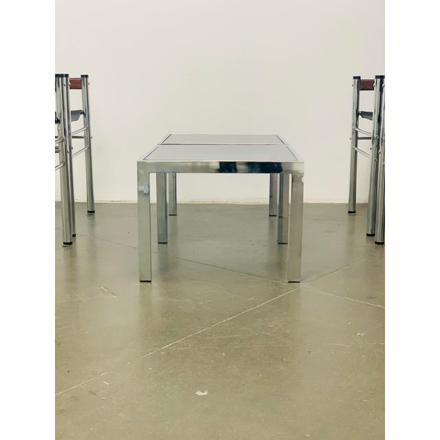 Metal 1970s Milo Baughman Side Tables - a Pair For Sale - Image 7 of 10