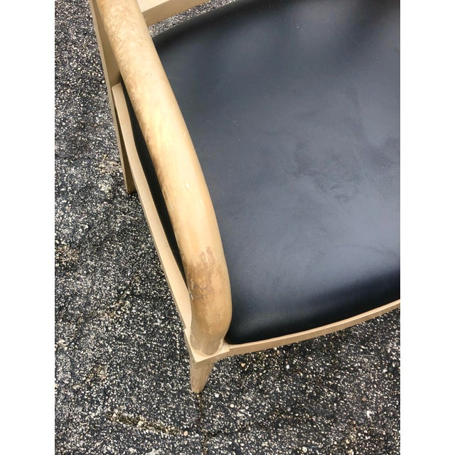 Vintage Custom Hand Made Neoclassical Dining Chairs- Set of 6 For Sale - Image 4 of 9